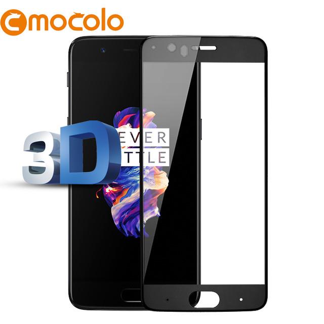 Защитное стекло Mocolo 3D 9H на весь экран для OnePlus 5 черный