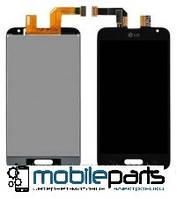 Оригинальный Дисплей (Модуль) + Сенсор (Тачскрин) для LG D320 Optimus L70 |  D321 |  MS323 (Черный)