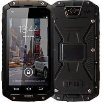 Хороший мощный смартфон с двумя сим- картами Land Rover Discovery V9 black-black  IP68 1/8 Gb