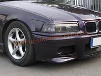 Реснички на фары из АБС пластика для BMW 3 E36 1990-1999