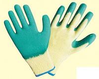 Перчатки рабочие латексные, зеленые (Рекодрак  AG-10), фото 1