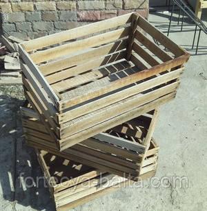 Ящик деревянный для фруктов 60х40х27