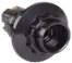 Пкб14-04-К11 Патрон карболитовый с кольцом, Е14, черный (50 шт), стикер на изделии, IEK