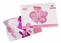Набор надувных фольгированных шаров для девочки