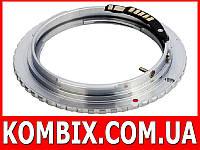 Переходник Olympus OM – Canon EF с чипом, фото 1