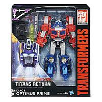 Трансформер Оптимус Прайм Поколение: Титаны Возвращаются Transformers Generations Titans Return Voyager Class