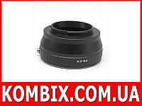 Переходник Pentax K – Fujifilm X-mount, фото 1