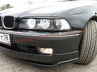 Реснички на фары из АБС пластика для BMW 5 E39 1995-2004