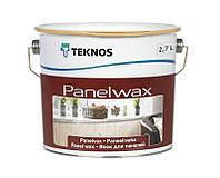 Масло-воск влагозащитный TEKNOS PANELWAX для древесины 2,7л