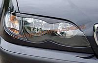Реснички на фары из АБС пластика для BMW 3 E46 1998-2006
