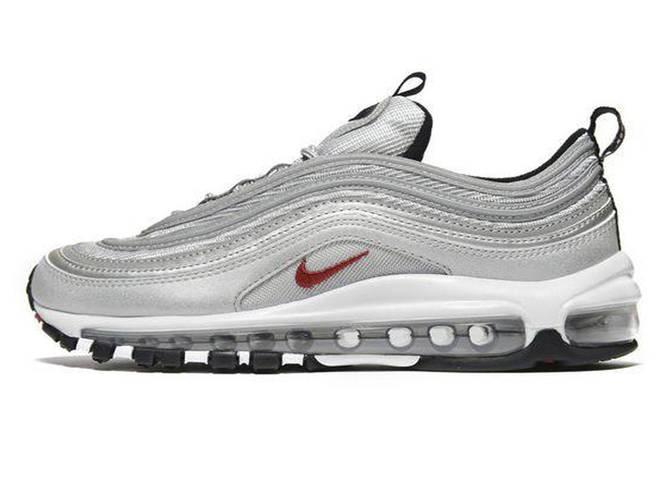 39ce96accc4e Женские кроссовки Nike Air Max 97 Silver (Реплика ААА+)  продажа ...