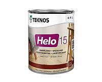 Лак уретан-алкидный TEKNOS HELO 15 яхтовый матовый 0,9л