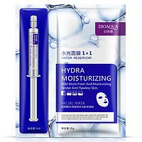Набор BIOAQUA HYDRA MOISTURIZING: Тканевая маска + Гиалуроновая кислота в шприце