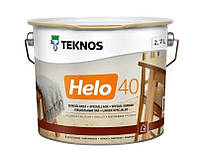 Лак уретан-алкидный TEKNOS HELO 40 яхтовый полуглянцевый 2,7л