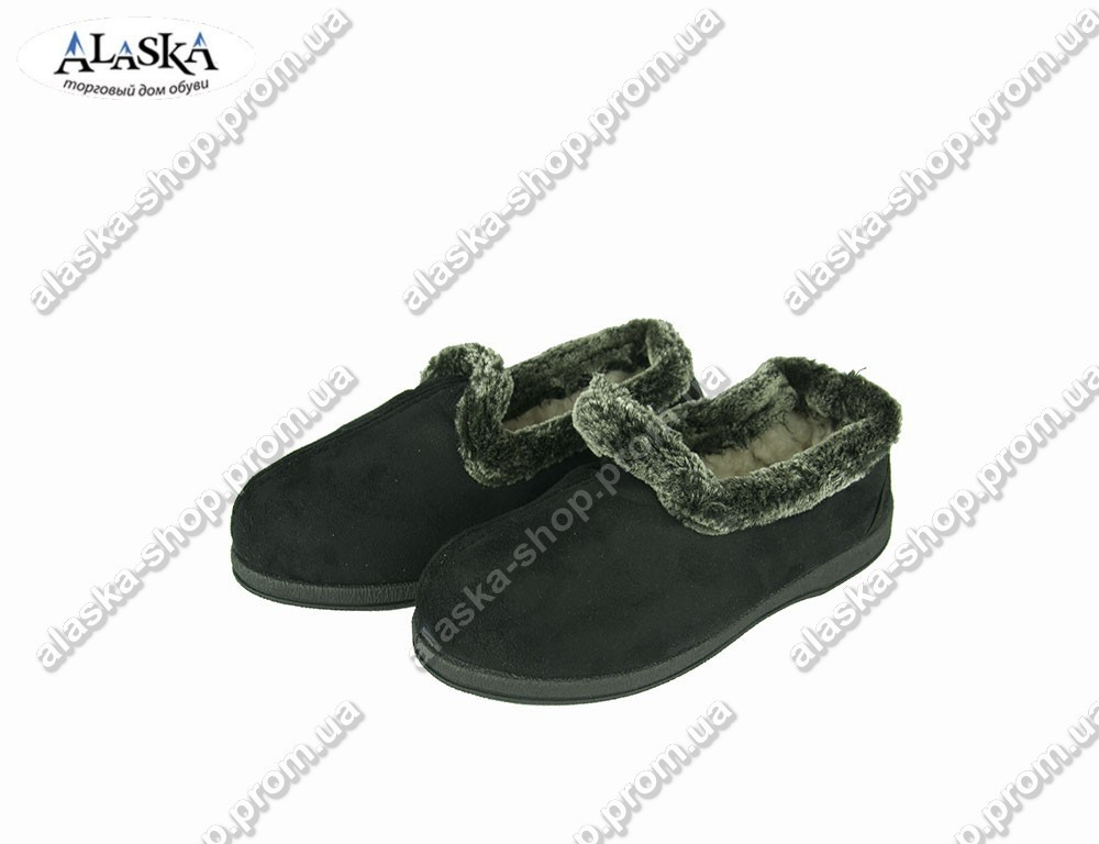 Женские бабуши черные (Код: Бабуш 3062)