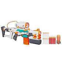 Бластер игрушечное детское оружие Нерф Три-Страйк/Nerf Modulus Tri-Strike B5577