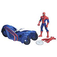 Фигурка Человек Паук на транспортном средстве Марвел/Ultimate Spider-Man vs. The Sinister Six: Spider-Man with Street