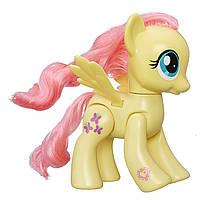 Фигурка Май Литл Пони Флаттершай большая 15 см/My Little Pony Explore Equestria Action Friends 6-inch Flutters