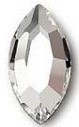 2200 Navette, 8x4mm, Crystal (001)
