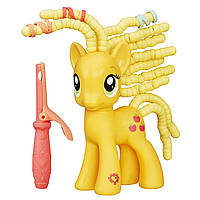 Фигурка Май Литл Пони Эппл Джек с прическами/My Little Pony Friendship is Magic Cutie Twisty-Do Applejack Figu