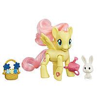 Фигурка Май Литл Пони Флаттершай шарнирная/My Little Pony Friendship Is Magic Fluttershy Flower Picking Poseab