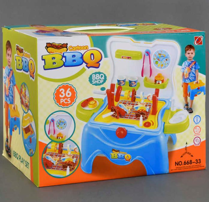 Детский игровой набор Барбекю.Игрушки для детей.Игровой набор кухня.