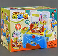 Детский игровой набор Барбекю. Игрушки для детей.Игровой набор кухня.