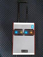 Мощная колонка чемодан с Bluetooth Atlanfa AT-Q8