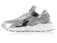 Женские кроссовки Nike Huarache Silver New