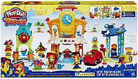 Игровой набор пластилина Город главная улица Плей До/Play-Doh