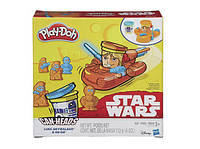 Игровой набор пластилина STAR WARS LUKE SKYWALKER AND R2-D2 CAN-HEADS Плей До/Play-Doh B2536