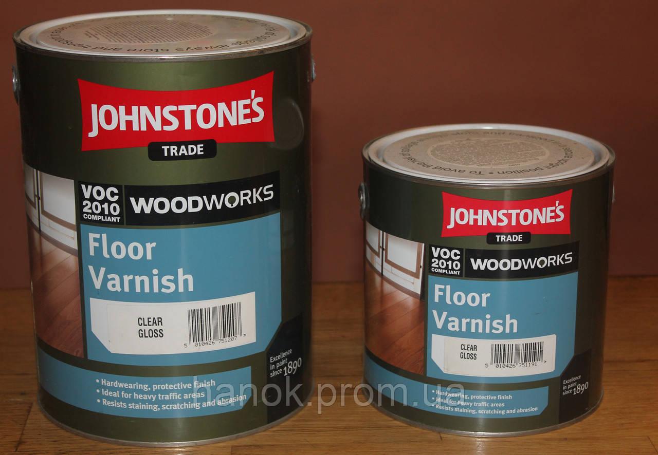 Quick Dry Floor Varnish Gloss Лак паркетный водорозчин. глянец., 2,5л