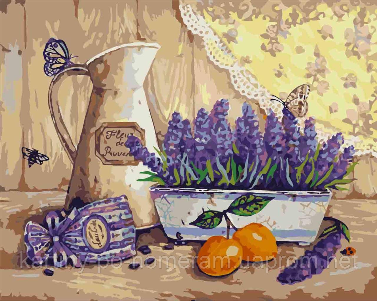 Картина по номерам KH2211 Богатства Прованса Худ Елизавета Мелкозёрова (40 х 50 см) Идейка