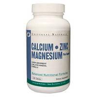 Universal Calcium Zinc Magnesium 100 tabs