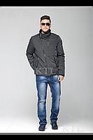 Модная мужская куртка нано -пух зимняя