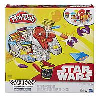 Игровой набор пластилина Тысячелетний сокол Star Wars Плей До/Play-Doh