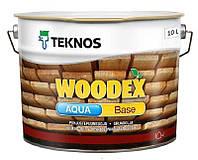 Грунтовка антисептическая TEKNOS WOODEX AQUA BASE для древесины 10л