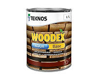 Грунтовка антисептическая TEKNOS WOODEX AQUA BASE для древесины 1л