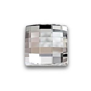 2493 Chessboard, 8mm, Crystal (001)