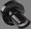 Пкб27-04-К31 Патрон угловой настенный карболитовый, Е27, черный (50 шт), стикер на изделии, IEK