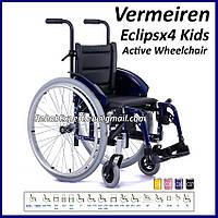 Легкая Активная Инвалидная Коляска Eclipsx4 Kids Active Wheelchair