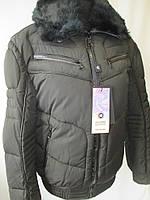 Мужские теплые куртки с меховым воротником., фото 1