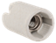 Пкр14-04-К43 Патрон подвесной керамический, Е14 (400 шт), стикер на изделии, IEK