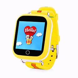 Умные детские часы Smart Baby Q100-S (Q750, GW200S) GPS, Wifi Yellow