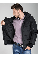 Удобная стильная зимняя мужская куртка нано -пух