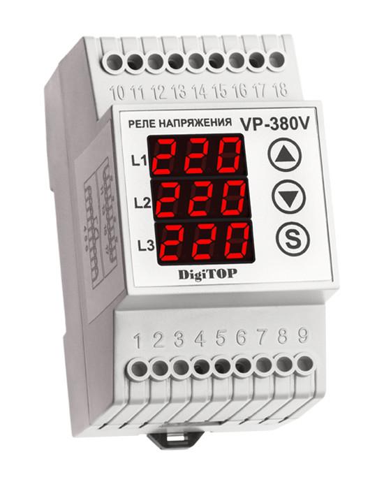 Реле напряжения 3-х фазное VP-380V DigiTOP