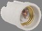 Пкр27-04-К43 Патрон подвесной керамический, Е27 (200 шт), стикер на изделии, IEK