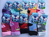 Махровые детские носки с тормозами S, M Бамбук «Корона»