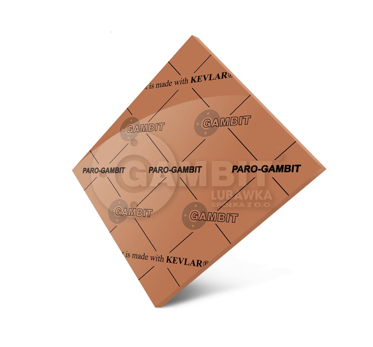 Пароніт безазбестовий PARO-Gambit (пароніт для середовища пар)