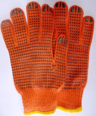 Рукавиці крапка вязані (12пар/уп) 5,75грн/пара